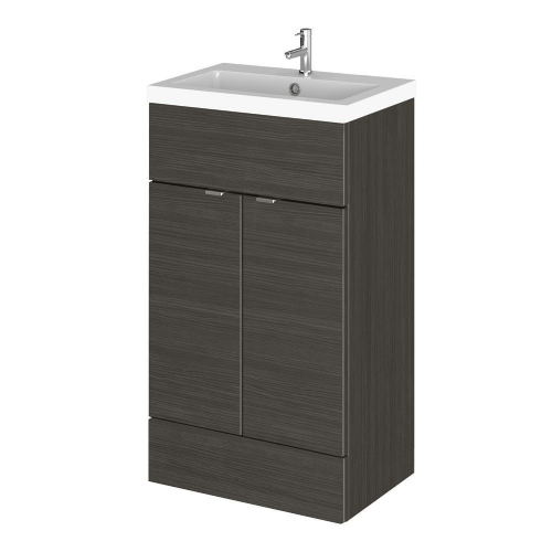 Elite Hacienda Black 500mm Full Depth Vanity Unit & Basin